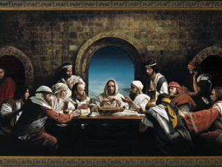 73 the last supper 20th century