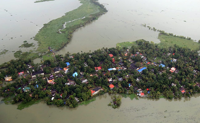 Floods in Kerala state, India