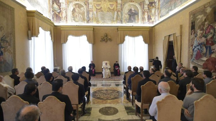 20181029 The Pope received the general assembly of the Scalabriniani