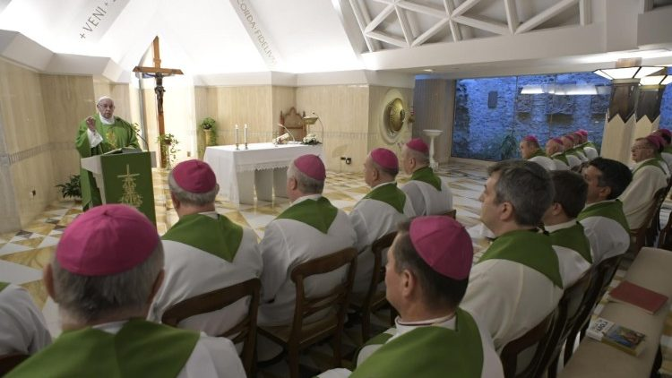 2018-11-08 Messa Santa Marta - Vatican Media