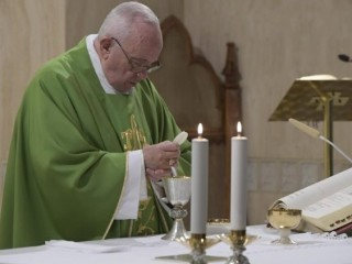 2018.11.29 Messa Santa Marta  (Vatican Media)