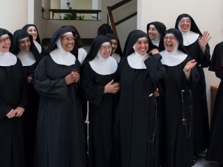 20181126 Poor Clare cloistered nuns at Casa Santa Marta in the Vatican