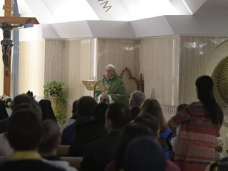 2018.11.27 Messa Santa Marta  (Vatican Media)