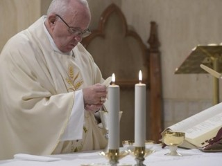 2018.12.03 Messa Santa Marta  (Vatican Media)
