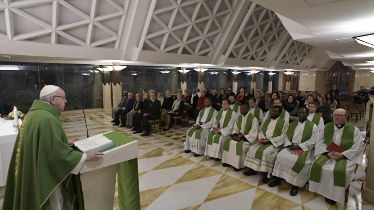 2019.02.07 Messa Santa Marta (Vatican Media)