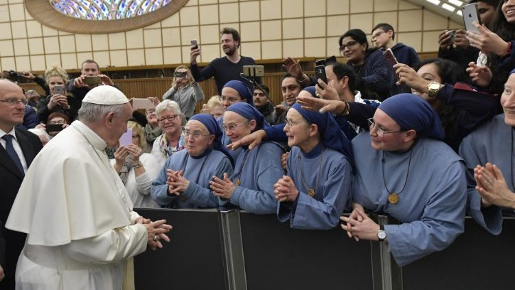 20190220 Pope Francis at his general audience 1