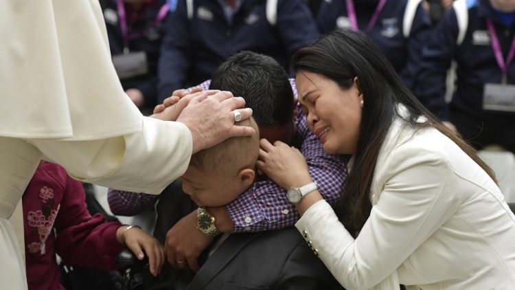 20190220 Pope Francis at his general audience 10