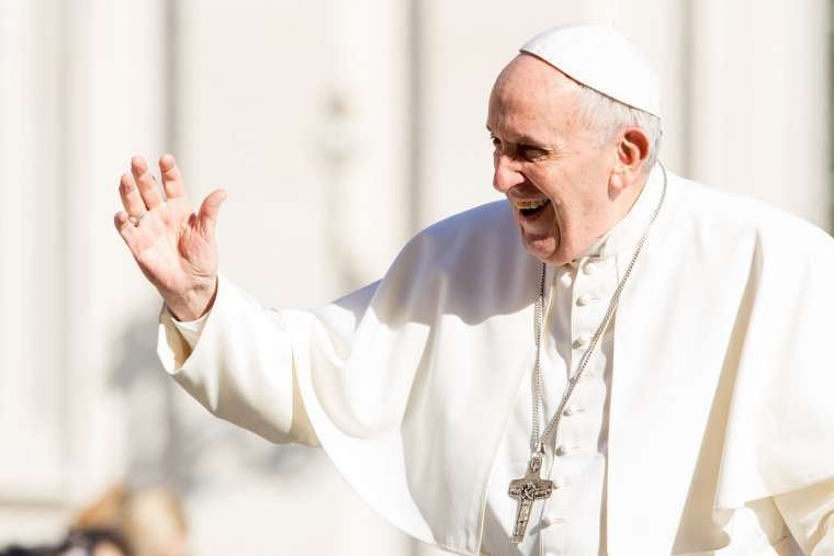 Pope_Francis_in_St_Peters_Square_March_14_2018_Credit_Daniel_Ibanez_CNA