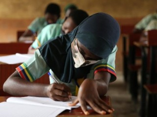 Students at school in Nigeria  (ANSA)