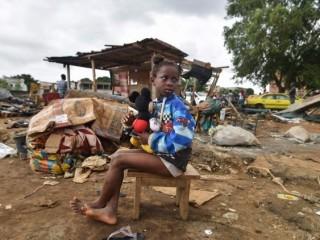 Một bé gái của Tây Phi   (AFP or licensors)