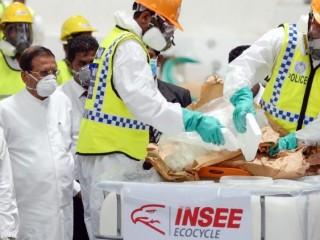 Cảnh sát Sri Lanka tiêu hủy số ma túy bắt được  (AFP or licensors)