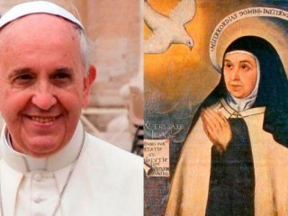 Đức Thánh Cha Phanxicô đã ca ngợi Thánh Têrêsa Ávila