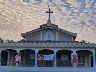 Các nhà thờ ở Bangladesh đã phải đóng cửa trong một thời gian dài do tình hình Covid-19 ngày càng xấu đi. (Ảnh: Stephan Uttom / UCA News)