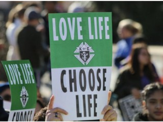 Những người ủng hộ cuộc sống vì cuộc sống thường niên lần thứ 45 tại Washington, D.C. vào ngày 19 tháng 1 năm 2018./ Jonah McKeown / CNA)