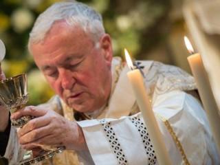 Đức Hồng Y Vincent Nichols, Tổng Giám Mục Westminster (Ảnh: MARCIN MAZUR)